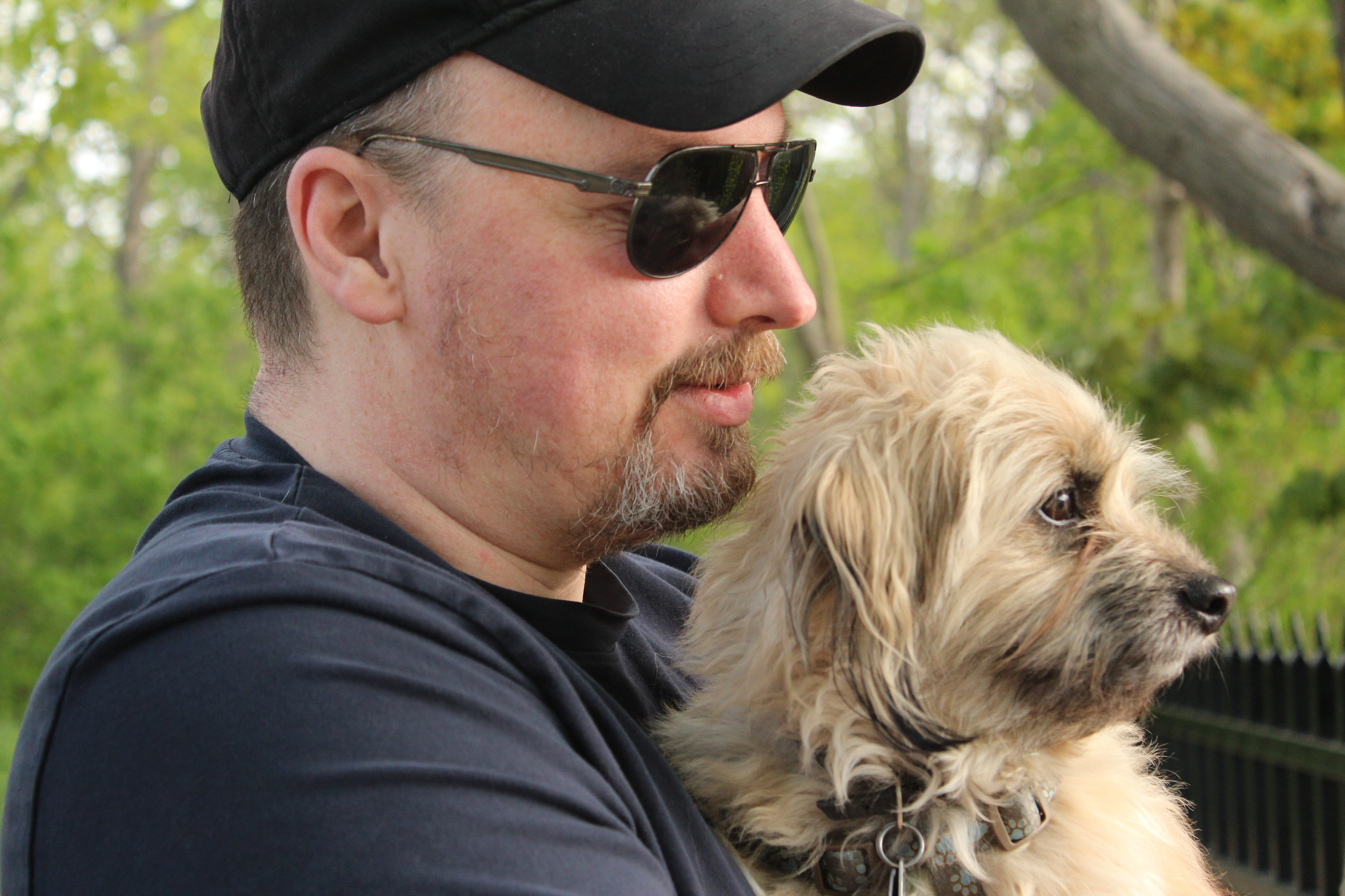 A Man And His Dog Edward Caissie